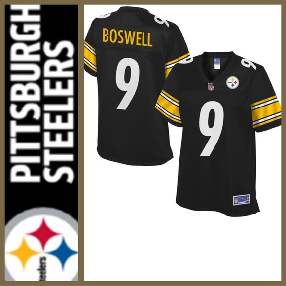 brand new 11be8 30cea 🔥FINAL!🔥[ NFL Pro Line ] Steelers Boswell Jersey